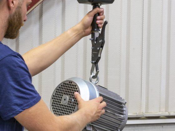 Elektrische takel op accu - Kettingtakel