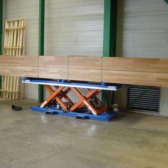 Heftafel in de houtindustrie