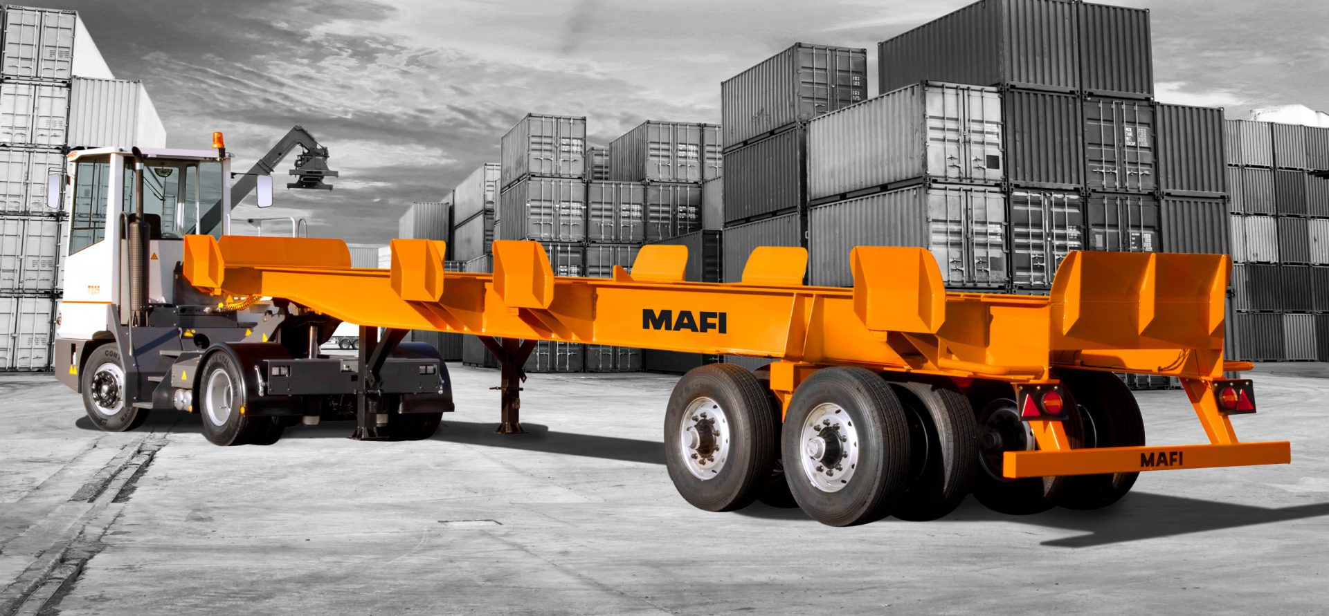 MAFI Container Chassis