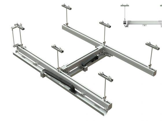 Aluminium Traversesysteem