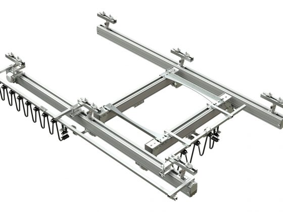 Aluminium Kraanbaansysteem