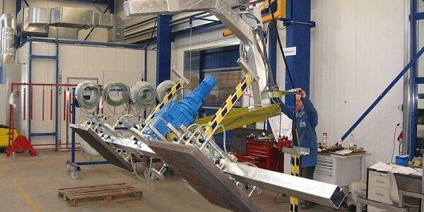 Vacuumheffer voor platen - draaimechanisme 180°