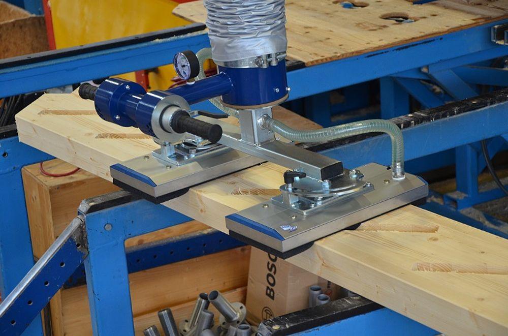 Vacuumheffer voor beton, hout of panelen