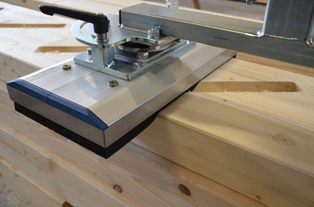 Vacuumheffer voor hout
